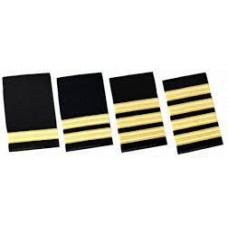 Epaulettes Gold on Black